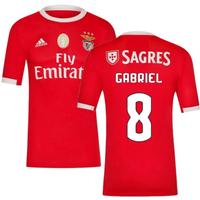 2019-2020 Benfica Adidas Home Football Shirt (Gabriel 8)