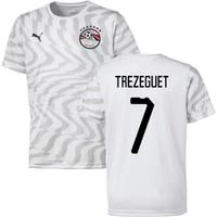 Image of 2019-2020 Egypt Away Puma Football Shirt (Trezeguet 7)