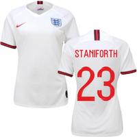 2019-2020 England Home Nike Womens Shirt (Staniforth 23)