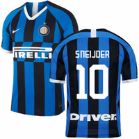 2019-2020 Inter Milan Home Nike Football Shirt (SNEIJDER 10)