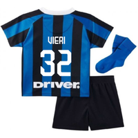 2019-2020 Inter Milan Home Nike Infants Kit (VIERI 32)