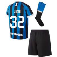 2019-2020 Inter Milan Home Nike Little Boys Mini Kit (VIERI 32)