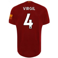 2019-2020 Liverpool Home Football Shirt (Virgil 4)