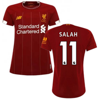 2019-2020 Liverpool Home Ladies Football Shirt (Salah 11)