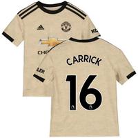 2019-2020 Man Utd Adidas Away Football Shirt (Kids) (Carrick 16)