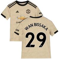 2019-2020 Man Utd Adidas Away Football Shirt (Kids) (Wan Bissaka 29)
