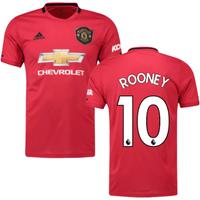 2019-2020 Man Utd Adidas Home Football Shirt (ROONEY 10)