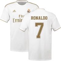 2019-2020 Real Madrid Adidas Home Shirt (Kids) (RONALDO 7)
