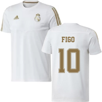2019-2020 Real Madrid Adidas Training Tee (White) (FIGO 10)