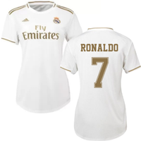 2019-2020 Real Madrid Adidas Womens Home Shirt (RONALDO 7)