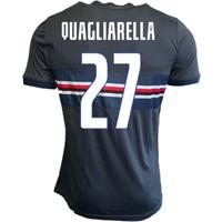 Image of 2019-2020 Sampdoria Joma Third Football Shirt (QUAGLIARELLA 27)