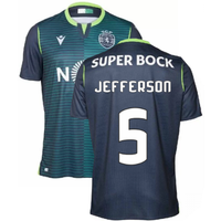 2019-2020 Sporting Lisbon Authentic Away Match Shirt (Jefferson 5)