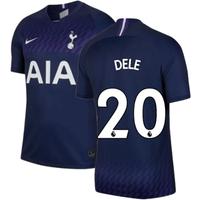 2019-2020 Tottenham Away Nike Football Shirt (Kids) (DELE 20)