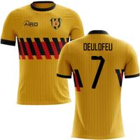 2019-2020 Watford Home Concept Football Shirt (Deulofeu 7)