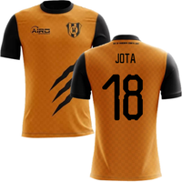 2019-2020 Wolverhampton Home Concept Football Shirt (Jota 18)