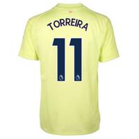 Image of 2020-2021 Arsenal Adidas Training Shirt (Yellow) - Kids (TORREIRA 11)