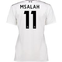 2016-17 Liverpool Away Womens Shirt (M Salah 11)