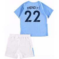 2017-18 Man City Home Baby Kit (Mendy 22)