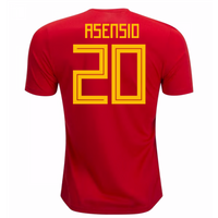 2018-19 Spain Home Shirt (Asensio 20) - Kids