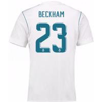 2017-18 Real Madrid Home Shirt (Beckham 23)