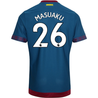 2018-2019 West Ham Away Football Shirt (Masuaku 26)