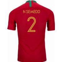 2018-2019 Portugal Home Nike Vapor Match Shirt (N Semedo 2)