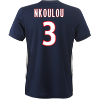 2017-2018 Lyon Adidas Away Shirt (Nkoulou 3)