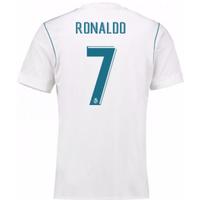 2017-18 Real Madrid Home Shirt (Ronaldo 7)