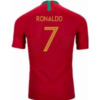 2018-2019 Portugal Home Nike Vapor Match Shirt (Ronaldo 7)