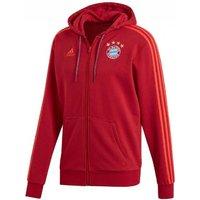 2019-2020 Bayern Munich Full Zip Hoody (Maroon)