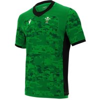 2020-2021 Wales Training Rugby Jersey (Green)