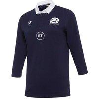 2020-2021 Scotland Home Cotton Rugby Shirt (Womens)