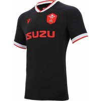 2020-2021 Wales Alternate Pro Body Fit Rugby Shirt