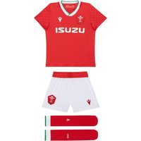 2020-2021 Wales Home Rugby Mini Kit