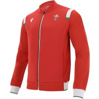 2020-2021 Wales Rugby Anthem Jacket (Red)