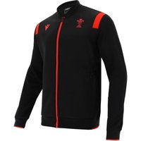 2020-2021 Wales Rugby Anthem Jacket (Black)