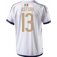 2006 Italy Tribute Away Shirt (astori 13)