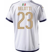 2006 Italy Tribute Away Shirt (belotti 23)