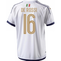 2006 Italy Tribute Away Shirt (de Rossi 16)