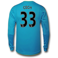 2016-17 Arsenal Away Goalkeeper Shirt (Cech 33)