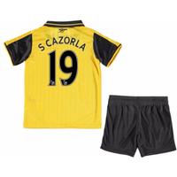 2016-17 Arsenal Away Mini Kit (S Cazorla 19)