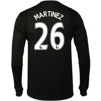 2016-17 Arsenal Home Goalkeeper Shirt (Martinez 26) - Kids