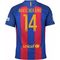 2016-17 Barcelona Sponsored Home Shirt (Mascherano 14) - Kids