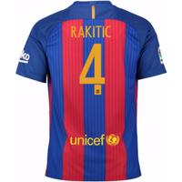 2016-17 Barcelona Sponsored Home Shirt (Rakitic 4) - Kids