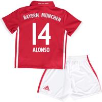 2016-17 Bayern Munich Home Mini Kit (Alonso 14)
