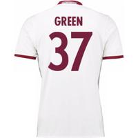 2016-17 Bayern Munich Third Shirt (Green 37)