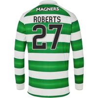 2016-17 Celtic Long Sleeve Home Shirt (Roberts 27)