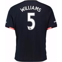 2016-17 Everton Away Shirt (Williams 5)