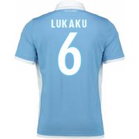 2016-17 Lazio Home Shirt (Lukaku 6)