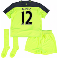 2016-17 Liverpool Third Mini Kit (Gomez 12)